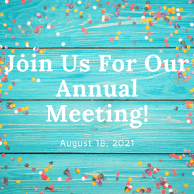 Join Us For Our Annual Meeting!